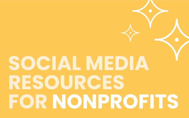 Social Media Resources for Nonprofits